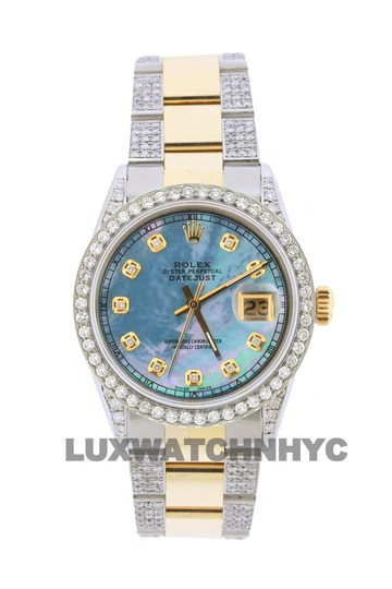 Preload https://img-static.tradesy.com/item/23826074/rolex-free-shipping-42ct-36mm-datejust-gold-ss-with-box-and-appraisal-watch-0-0-540-540.jpg