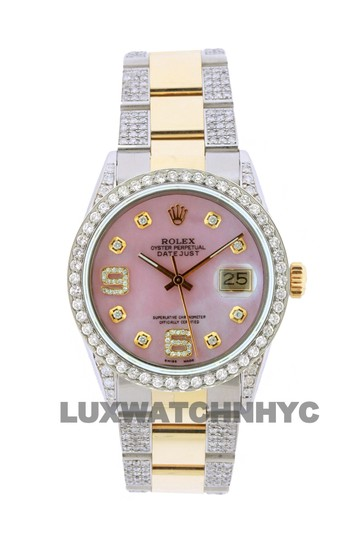 Preload https://img-static.tradesy.com/item/23826079/rolex-free-shipping-42ct-36mm-datejust-gold-ss-with-box-and-appraisal-watch-0-0-540-540.jpg