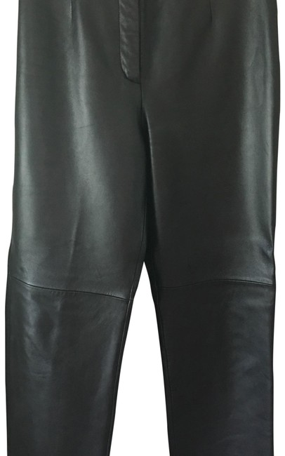 Item - Black Leather In Excellent Condition Pants Size 10 (M, 31)