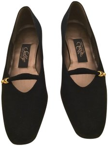 Selby Casual Dressy Black suede Flats