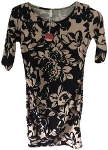 PinkBlush Fitted Floral Maternity Dress