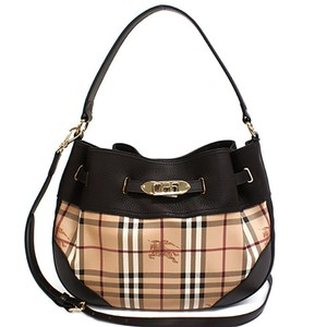 Burberry Tote Black Tote Black Peyton Cotton Hobo Bag 7555d49c80717