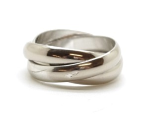 Cartier Trinity ring size 49 4.75