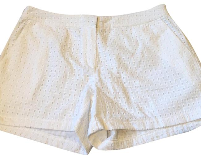 Item - White Woven Shorts Size 4 (S, 27)