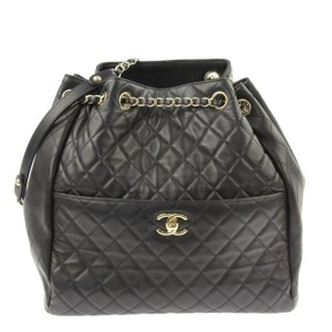 Chanel Quilted Drawstring Quilted Drawstring Bucket Bucket Shoulder Bag