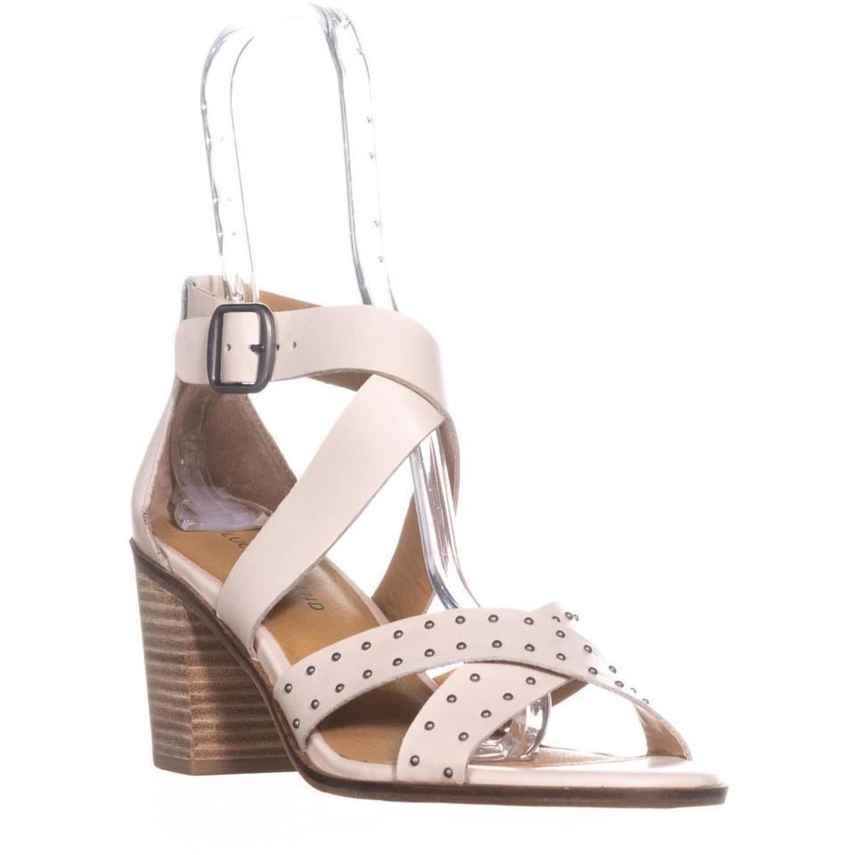 Lucky Brand Beige Kesey Buckle 40 Strappy Sandals Sandshell / 40 Buckle Eu Pumps 9d1eb8