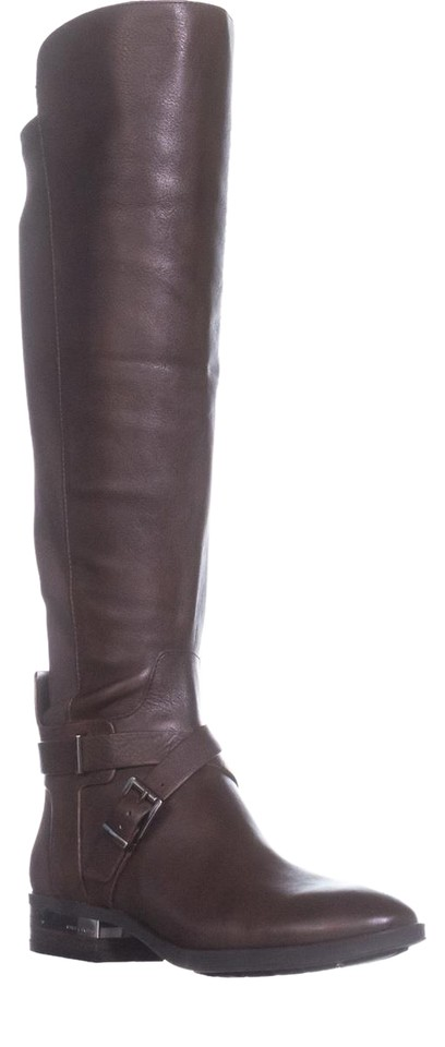 Vince Wide Camuto Brown Paton Wide Vince Calf Fashion Sherwood Bark She Boots/Booties 7a4c9a
