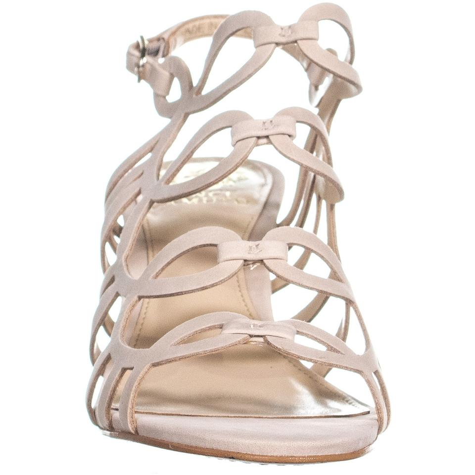 40 Vince Strap Pumps Ankle Heeled Nude Beige Eu Sandals Camuto Petina xq7HP