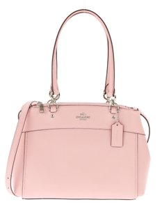 Coach Set Gift Set Gift Box Matching Set Leather Satchel in Pink