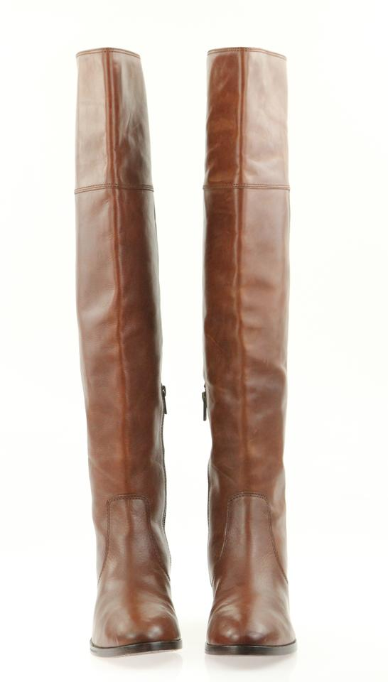d8e3f26570d Frye Brown Clara Over-the-knee Boots Booties Size US 11 Regular (M ...