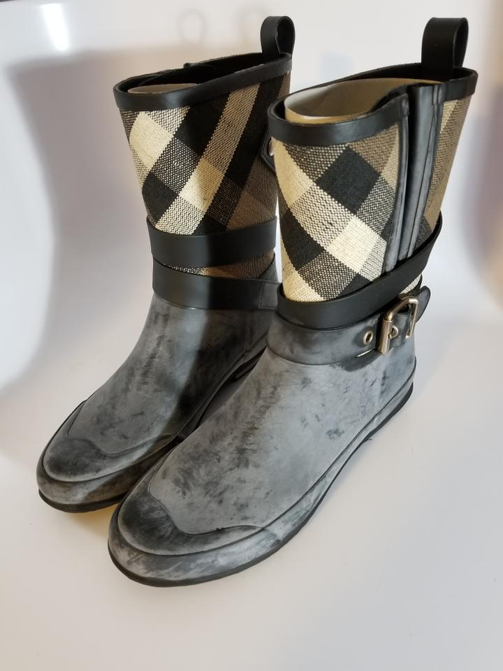 Rain Black 'holloway' Burberry Booties Boots 0qzwOg7g
