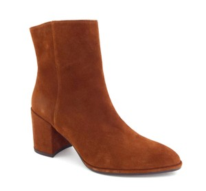 Stuart Weitzman Zipper Sw Color-blocking Notazzie Kate Middleton Amaretto Brown Boots