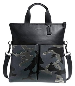 Coach Tote in GREY MULTI / BLACK