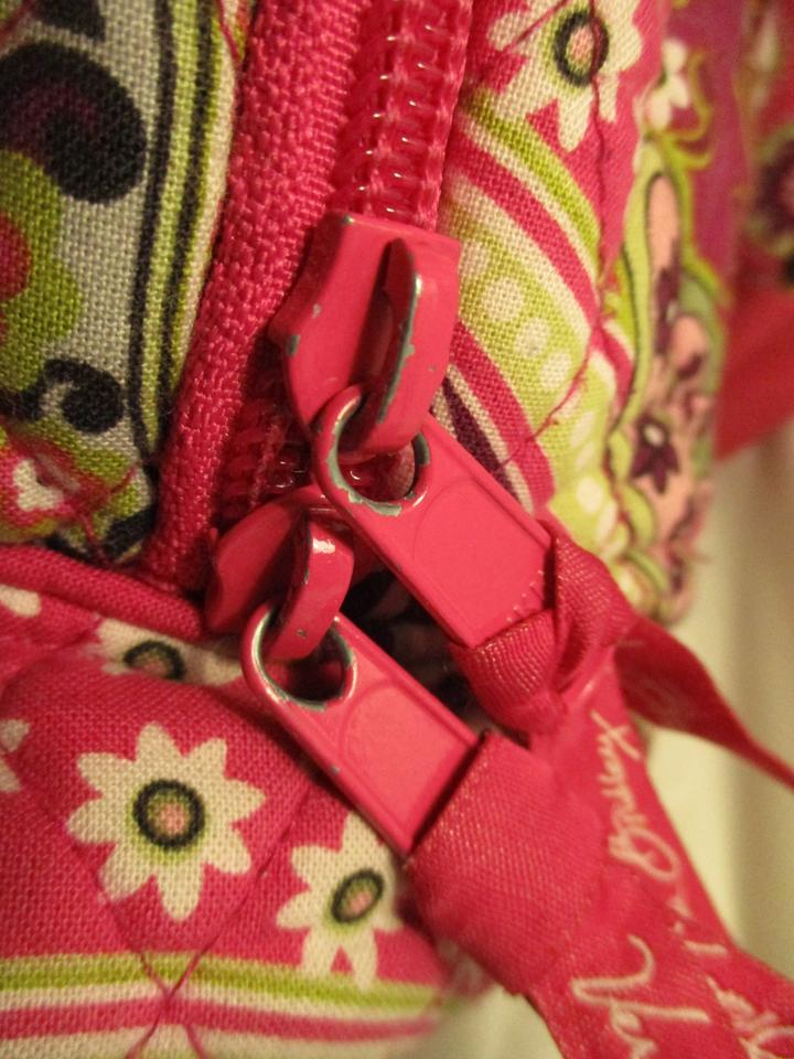 0ba89ae22b5f Vera Bradley Cotton Quilted Laptop 005 Backpack Image 11. 123456789101112