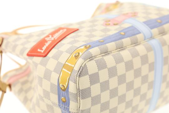 Louis Vuitton Monogram Damier Canvas Limited Edition Tote in Blue