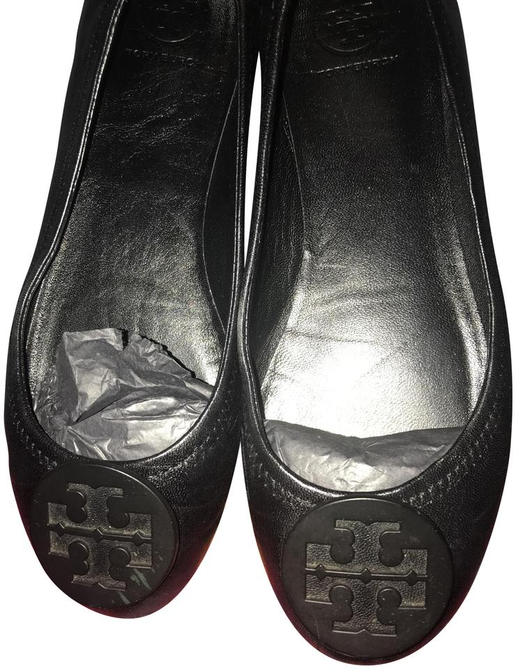 ae8141273d77 Tory Burch Minnie Travel Ballet with Logo Soft Napa Leather Flats ...