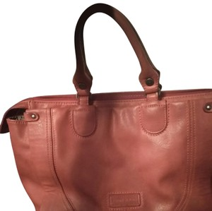 Patrick Cox Satchel in Red leather
