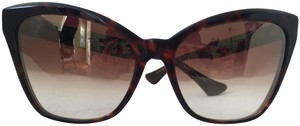 Dita Dita Superstition Havana with Mirrored Lenses