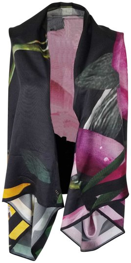 Preload https://item1.tradesy.com/images/ted-baker-black-and-multi-color-mulberry-silk-scarfwrap-23832400-0-3.jpg?width=440&height=440