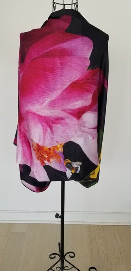 Ted Baker Ted Baker 100% mulberry silk cape scarf