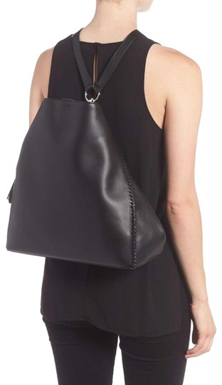 Preload https://img-static.tradesy.com/item/23832453/allsaints-pearl-black-leather-backpack-0-1-540-540.jpg