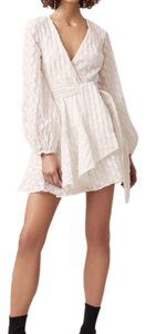 C/meo Collective short dress IVORY on Tradesy
