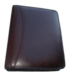 Franklin Covey Full Grain Aniline Leather Compact USA Vintage Planner