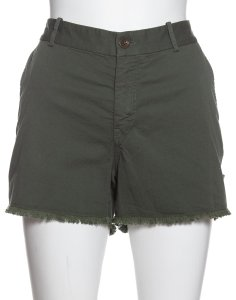 Nili Lotan Cut Off Shorts army green