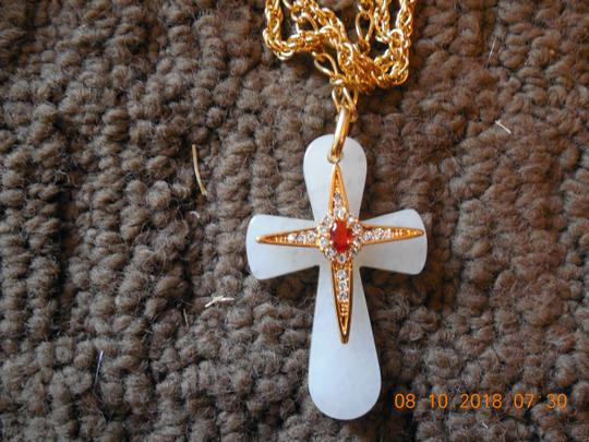 Camrose & Kross Camrose & kross Jackie Kennedy Cross Necklace