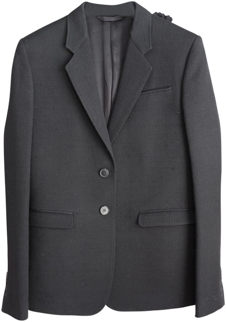 Preload https://img-static.tradesy.com/item/23832551/costume-national-black-wool-suit-blazer-size-4-s-0-1-650-650.jpg
