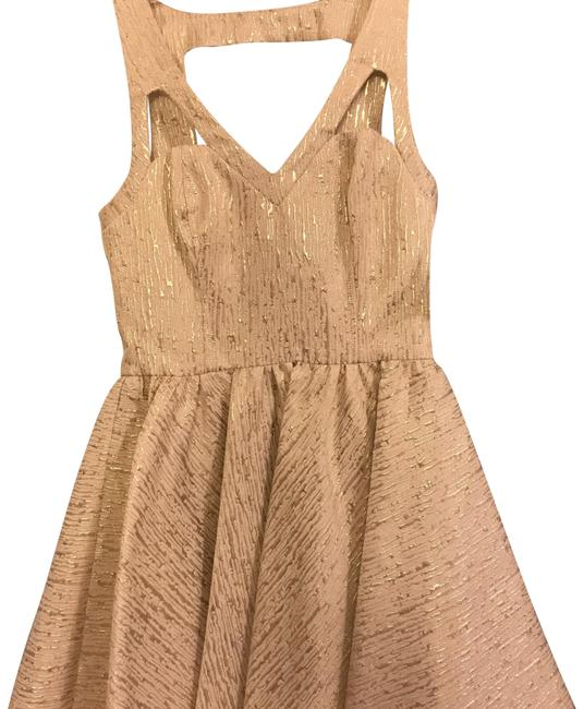 Preload https://img-static.tradesy.com/item/23832557/keepsake-the-label-gold-i-think-she-knows-short-cocktail-dress-size-2-xs-0-1-650-650.jpg