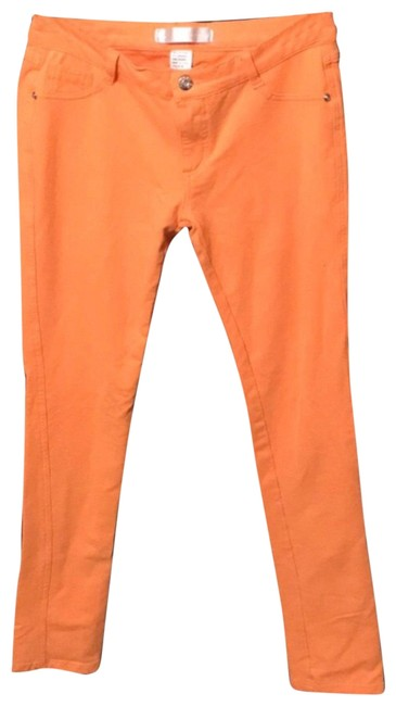 Preload https://img-static.tradesy.com/item/23832559/orange-jeggings-pants-size-12-l-32-33-0-1-650-650.jpg