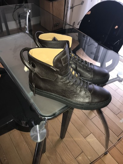Buscemi metallic / brown Boots