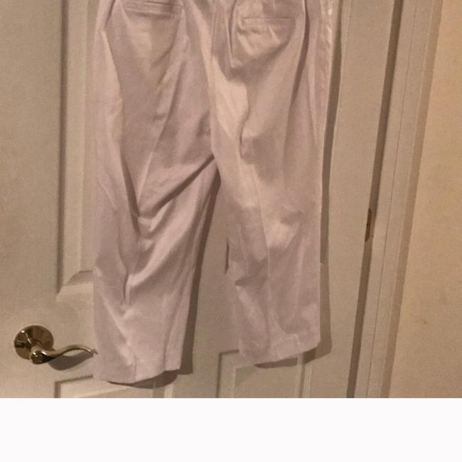 New Directions Capris White