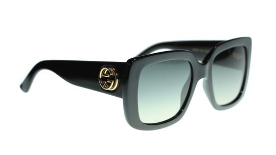 Gucci GUCCI SQUARE GG0141S 001 BLACK/GREY GRADIENT LENS 53MM