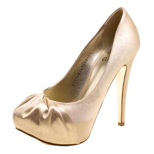 Gina Gold Pumps