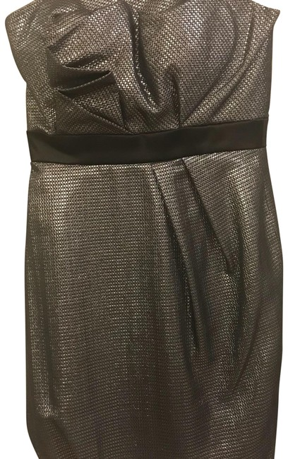 Preload https://img-static.tradesy.com/item/23832637/max-and-cleo-silver-strapless-short-cocktail-dress-size-4-s-0-1-650-650.jpg