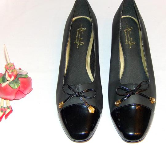 Hush Puppies Soft Style All Day Comfortable Black Pumps