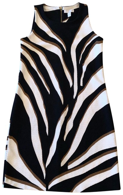 Preload https://item4.tradesy.com/images/charter-club-black-gold-white-zebra-like-short-casual-dress-size-petite-2-xs-23832673-0-1.jpg?width=400&height=650