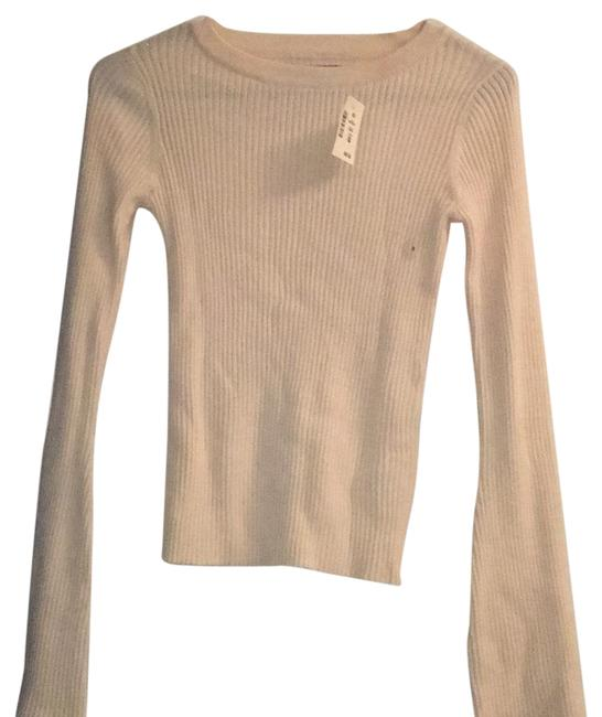 Preload https://item4.tradesy.com/images/aeropostale-cream-bell-shaped-sleeves-sweaterpullover-size-4-s-23832688-0-1.jpg?width=400&height=650