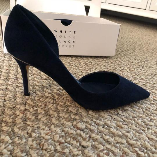 White House | Black Market blue Pumps
