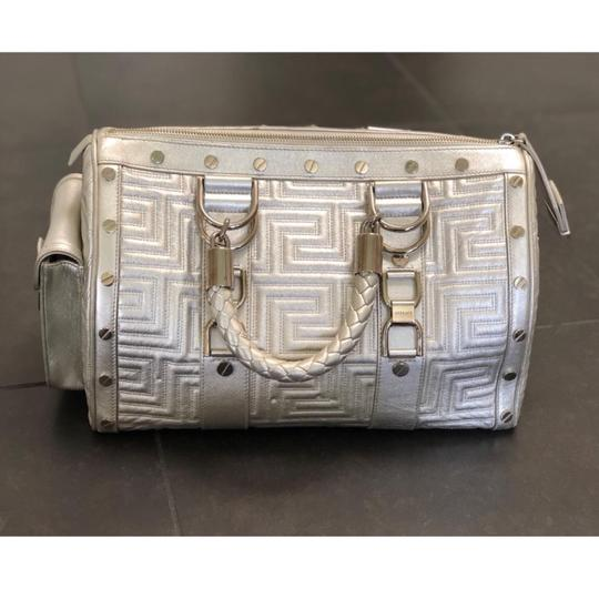 Versace Satchel in Silver