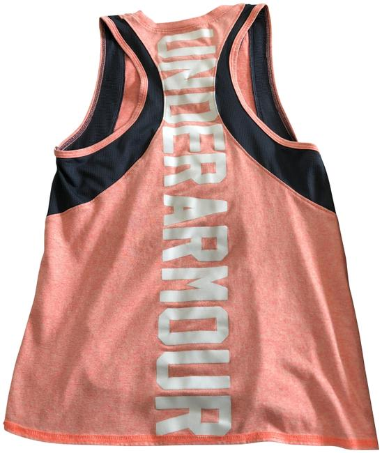 Preload https://item2.tradesy.com/images/under-armour-peach-white-and-gray-tee-activewear-top-size-8-m-23832731-0-1.jpg?width=400&height=650