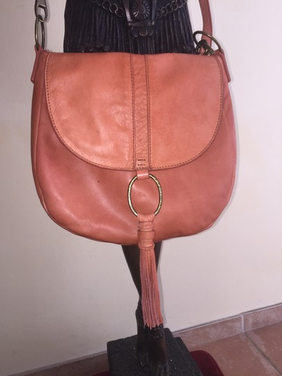 Lucky Brand Satchel in Burnt Orange