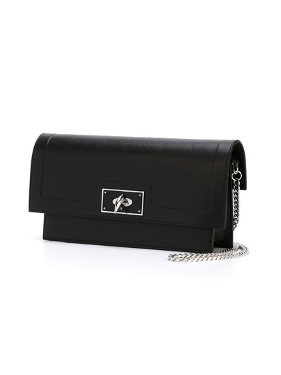 Preload https://item1.tradesy.com/images/givenchy-shark-wallet-on-a-chain-black-leather-satchel-23832760-0-0.jpg?width=440&height=440