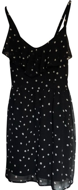 Preload https://item2.tradesy.com/images/bar-iii-black-and-white-mid-length-cocktail-dress-size-8-m-23832771-0-1.jpg?width=400&height=650