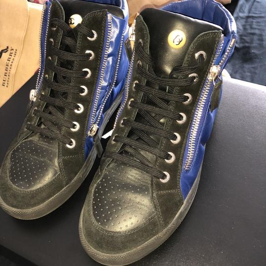 Chanel black and blue Athletic