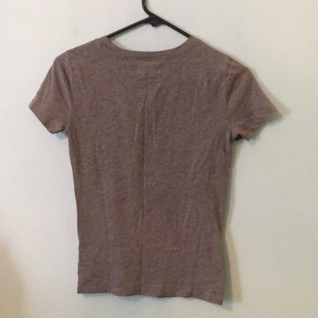 Hollister T Shirt Gray with White