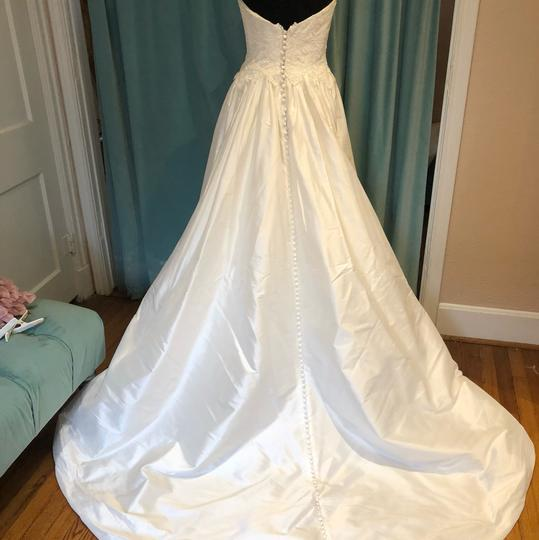 Lillian West Ivory Silk 6436 Casual Wedding Dress Size 6 (S)