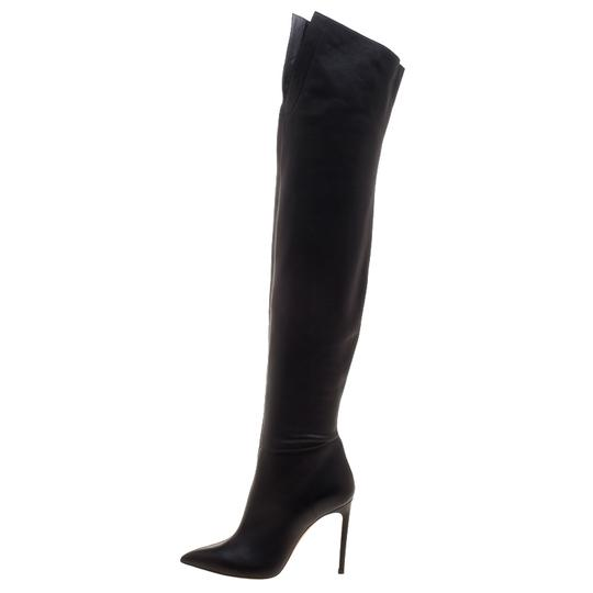 Preload https://item2.tradesy.com/images/casadei-black-leather-tango-over-the-knee-pointed-bootsbooties-size-eu-36-approx-us-6-regular-m-b-23832821-0-0.jpg?width=440&height=440